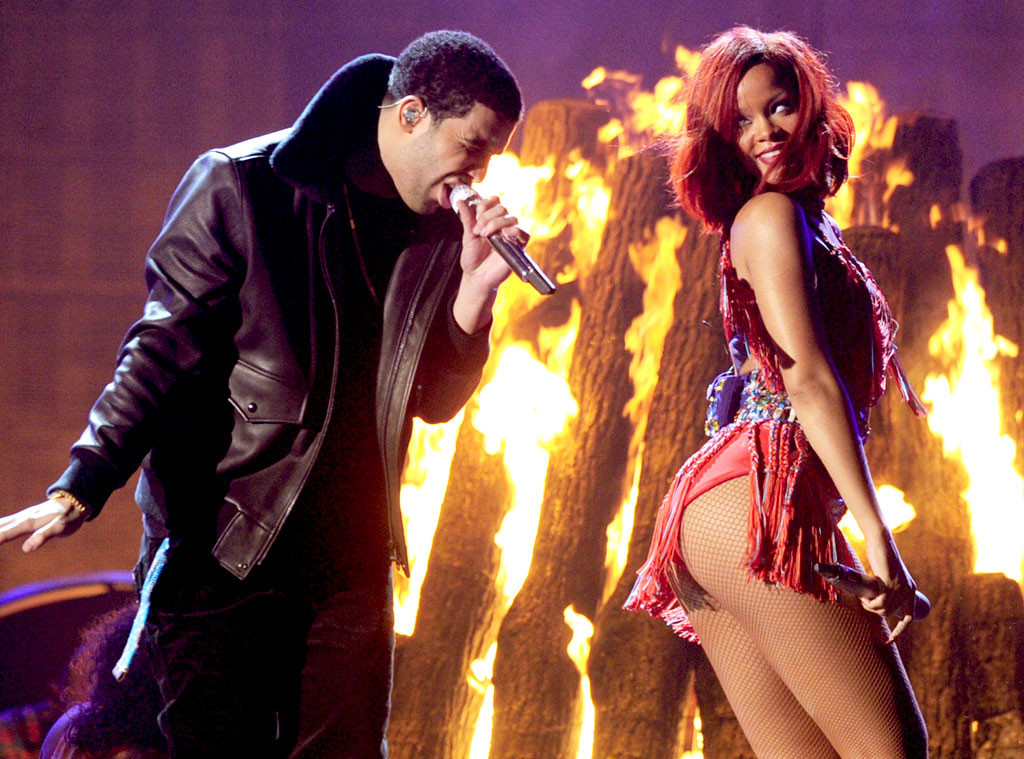 drake and rihanna dating history