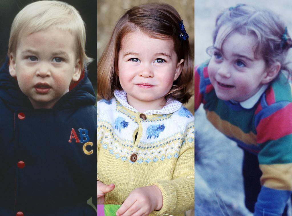 Prince William Princess Charlotte Ss Of Cambridge Kate Middleton